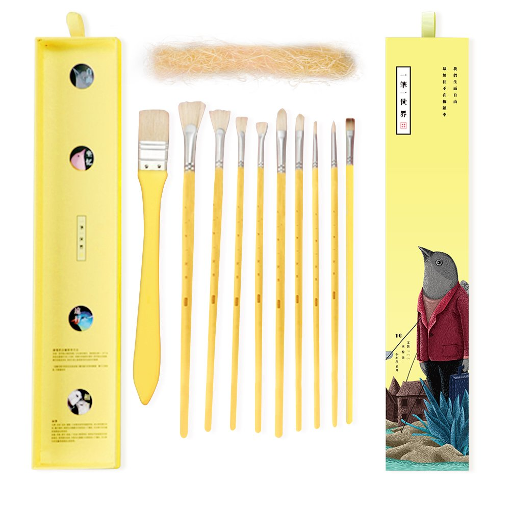 Miya Artist Paint Brushes Set for Acrylic Oil