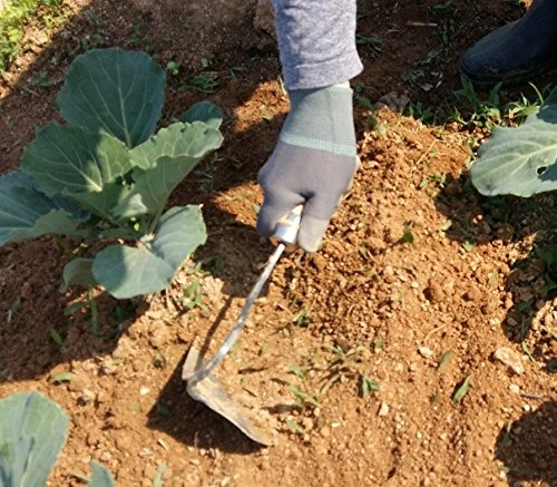 U-nomad HOMI - Korean Style Hand Plow Hoe - Lightweight, Easy Digging and Perfect for Anyone - Best Tool for Gardening and Horticulture