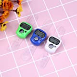 Finger Ring Counter Stitch Marker Row LCD