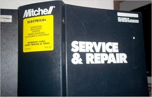 1996 Mitc Electrical Service Repair Domestic Cars Light Trucks Vans Wiring Diagrams