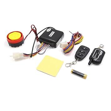 sourcing map 2 Vías Sistema Alarma Kit Antirrobo Universal ...