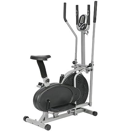 16d6142b9dca BestMassage Elliptical Trainer Elliptical Machine Exercise Bike 2 in 1 Cross  Cardio Trainer Exercise Elliptical Fitness