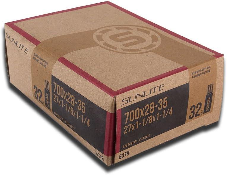 """2Pak Kenda 700 x 28-35c// 27/""""x 1-1//8-1//4/"""" Schrader Valve Bike Tire Inner Tubes"""
