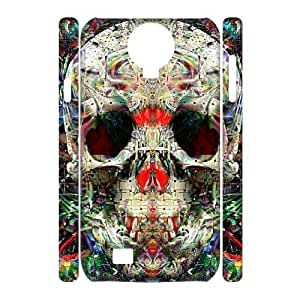 lintao diy case Of Skull 3D Bumper Plastic Cell phone Case For Samsung Galaxy S4 i9500