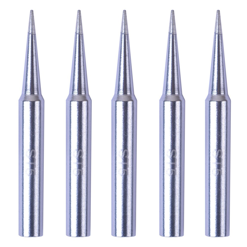 SP40L WP30 SP40NKUS SPG40 SP40N WP25 Bleiou 5 Pack Replacement ST5 Soldering Iron Tips for Weller WLC100 WP35