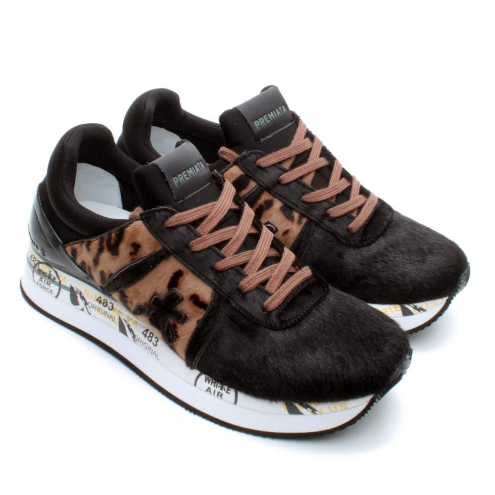 PREMIATA Damen Sneaker Grau Grau, Grau Grau Größe: 36 EU