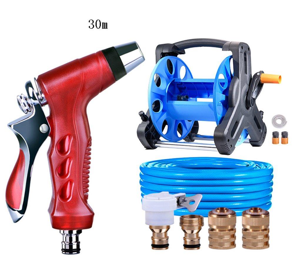 SHI XIANG SHOP Große Hochdruck-Metall-Auto-Wasch-Wasser-Pistole Rot Multi-length Optional A+ ( größe : 25 meters )