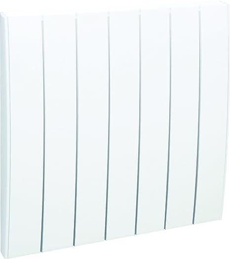 Airelec AIRA692815 Radiateur r/éfractite inertie s/èche duplex 1500 W Vertical Blanc