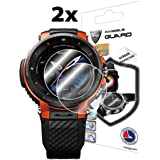 IPG for Casio Pro Trek Smart WSD - F30 Outdoor Watch Screen Protector (2 Units) Invisible Ultra HD Clear Film Anti Scratch Sk