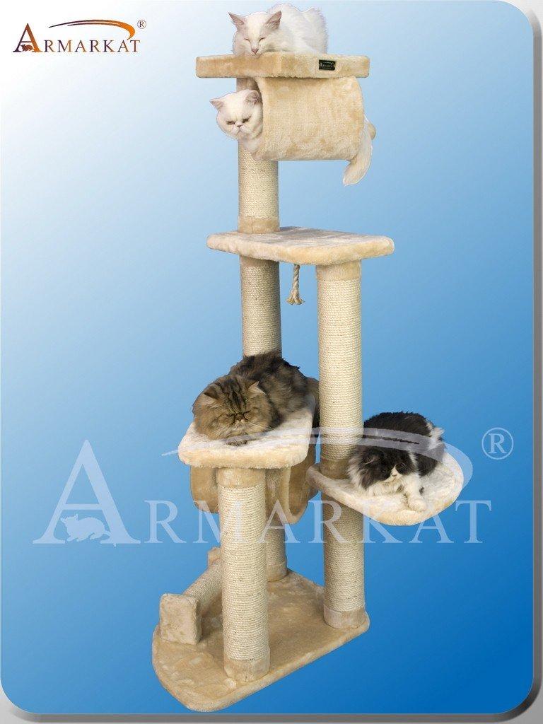 Amazon.com: ARBOL para GATOS de ARMARKAT modelo CLASSIC FAUX FUR A7463B: Health & Personal Care