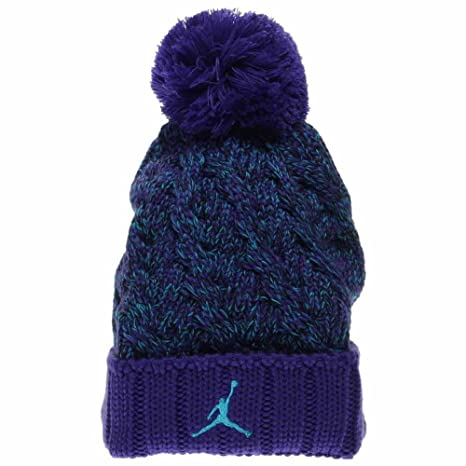 469c9a89f41 Buy Air Jordan Jumpman Cable Knitting Pom Beanie Online at Low Prices in  India - Amazon.in