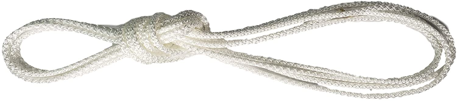 First Choice Products Cord Loops Fits All Major Brands Like Hunter Douglas, Levolor, Kirsch, Graber, Bali, Used On Most Cellular and Pleated Shades (2.7 mm) (4 Ft, White)