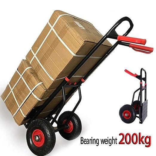 MO&GOU Carretilla de Mano Plegable de 200 kg de Capacidad de Carga ...