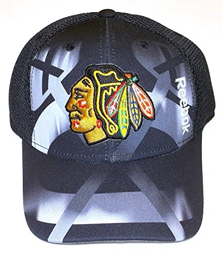 Reebok Chicago Blackhawks NHL 2016 Center Ice 2nd Season Adjustable Hat ()