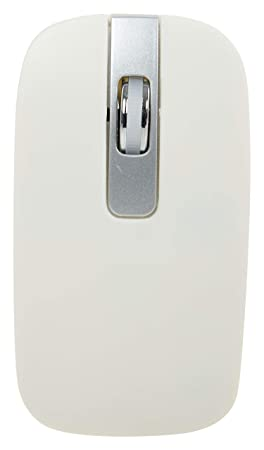 Keeva Ultra Slim 2.4 Ghz Bluetooth White Wireless Mouse Keyboards, Mice   Input Devices
