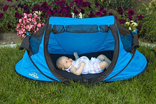 Best Baby Travel Bed and Beach Tent (blue) Provides Shade and Shelter & Best Baby Travel Bed and Beach Tent (blue) Provides Shade and ...