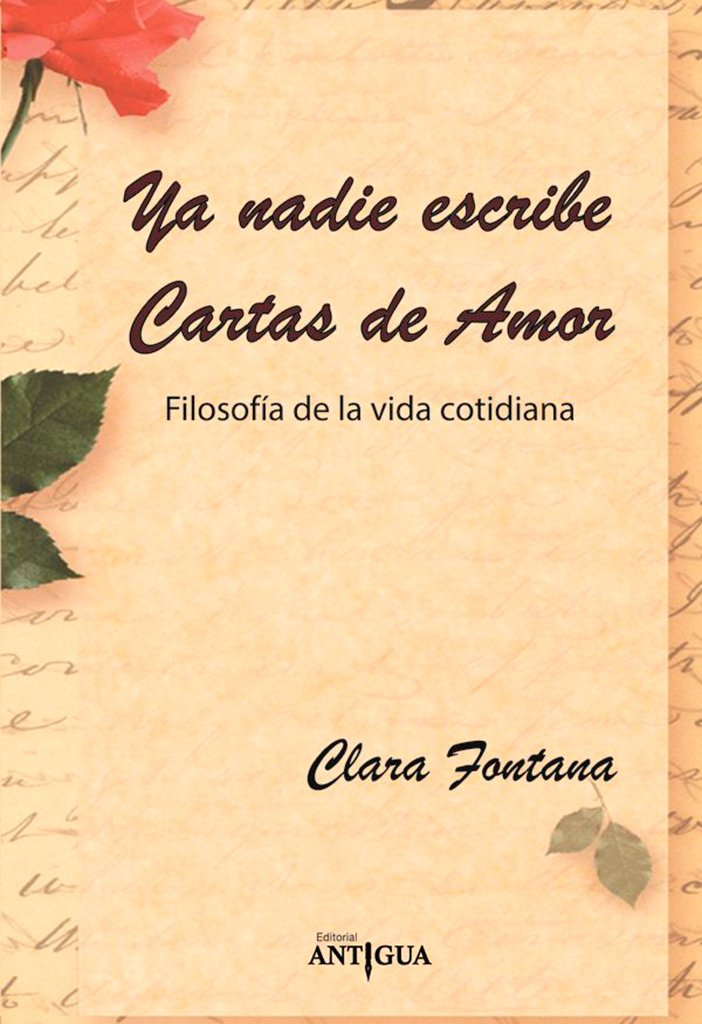 Ya Nadie Escribe Cartas De Amor: FONTANA CLARA ...