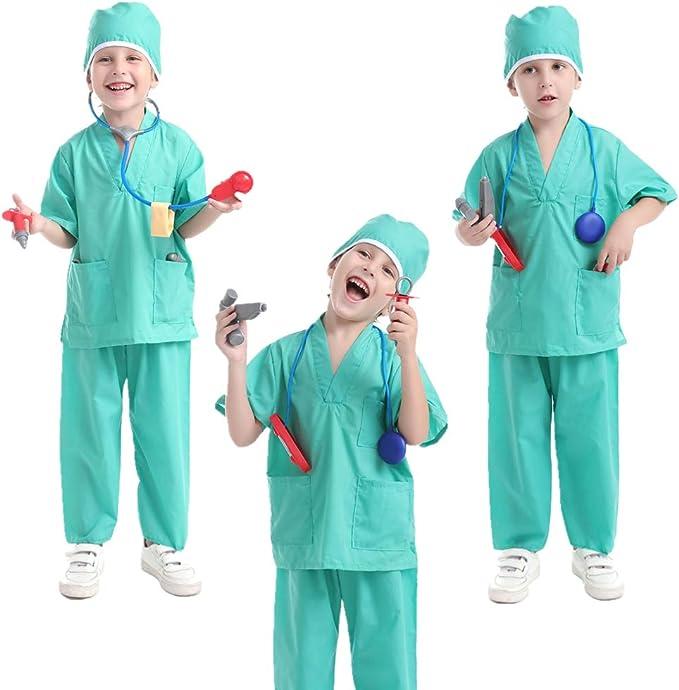 Roleplay Ragazzi Costume Uniforme OCCUPAZIONE Libro Settimana Giorno Costume Per Bambini Kid