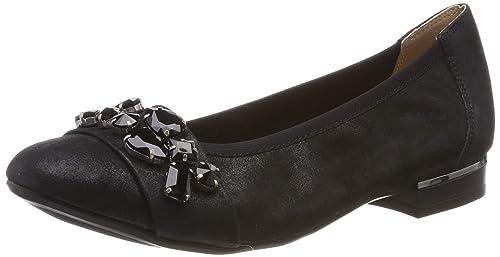 größte Auswahl exklusive Schuhe Treffen CAPRICE Damen Tina Geschlossene Ballerinas