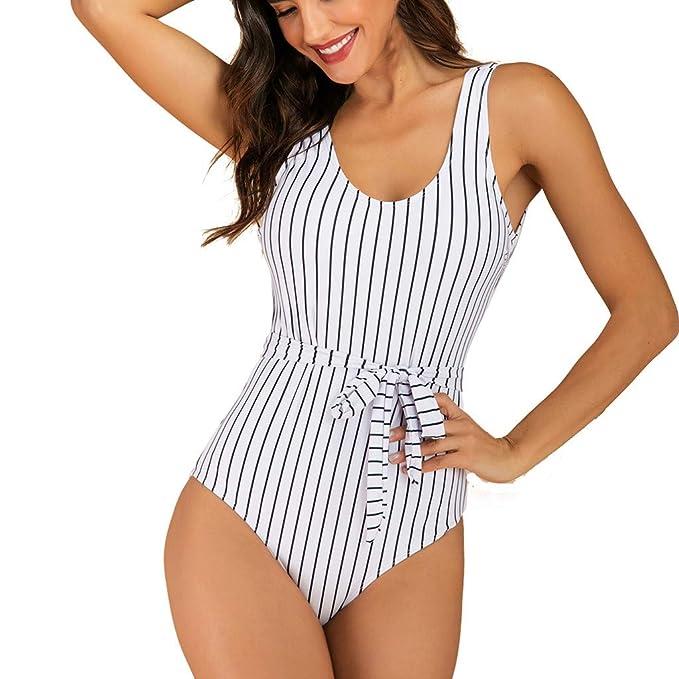 RISTHY Bikini Mujer Traje De Baño Bikini Bañador Natacion ...