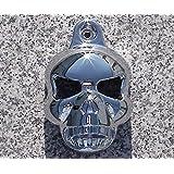 i5 Chrome Skull Horn Cover for Harley Davidson