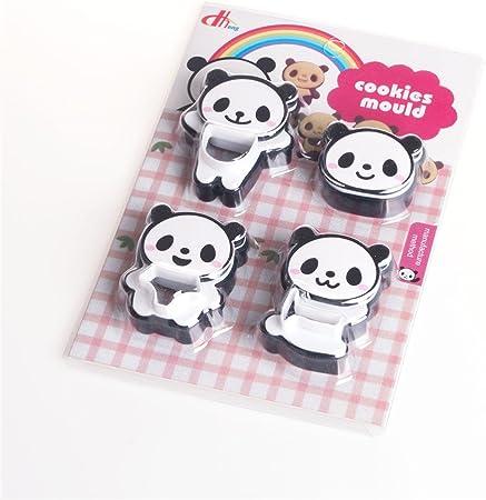 emporte-pi/èce en forme de panda Accessoires de Cuisine Panda ours Biscuits Forme Emporte-Pi/èces Accessoire de cuisson