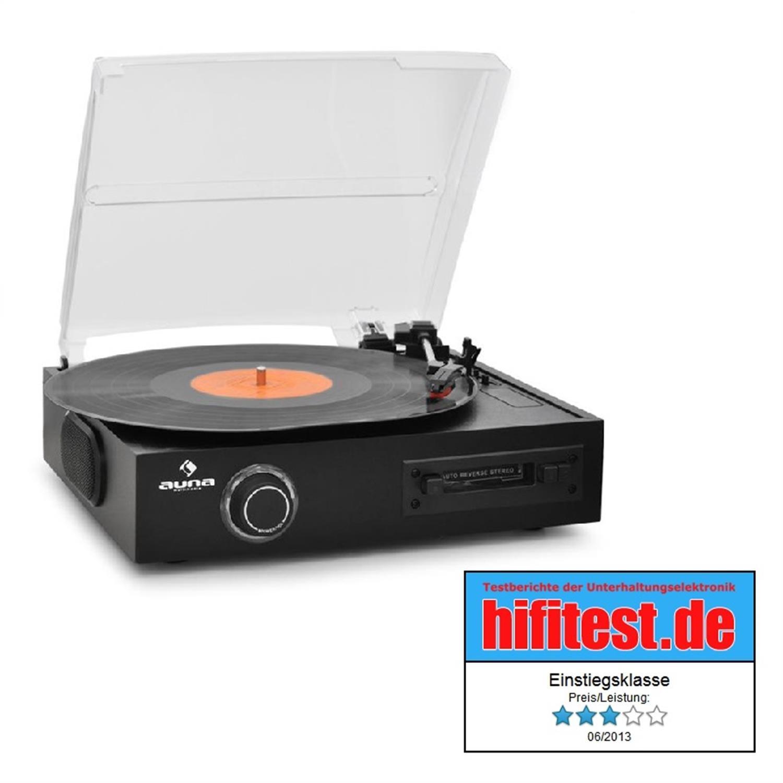 Auna Tocadiscos Vinyl USB escritor K7 MP3: Amazon.es: Electrónica
