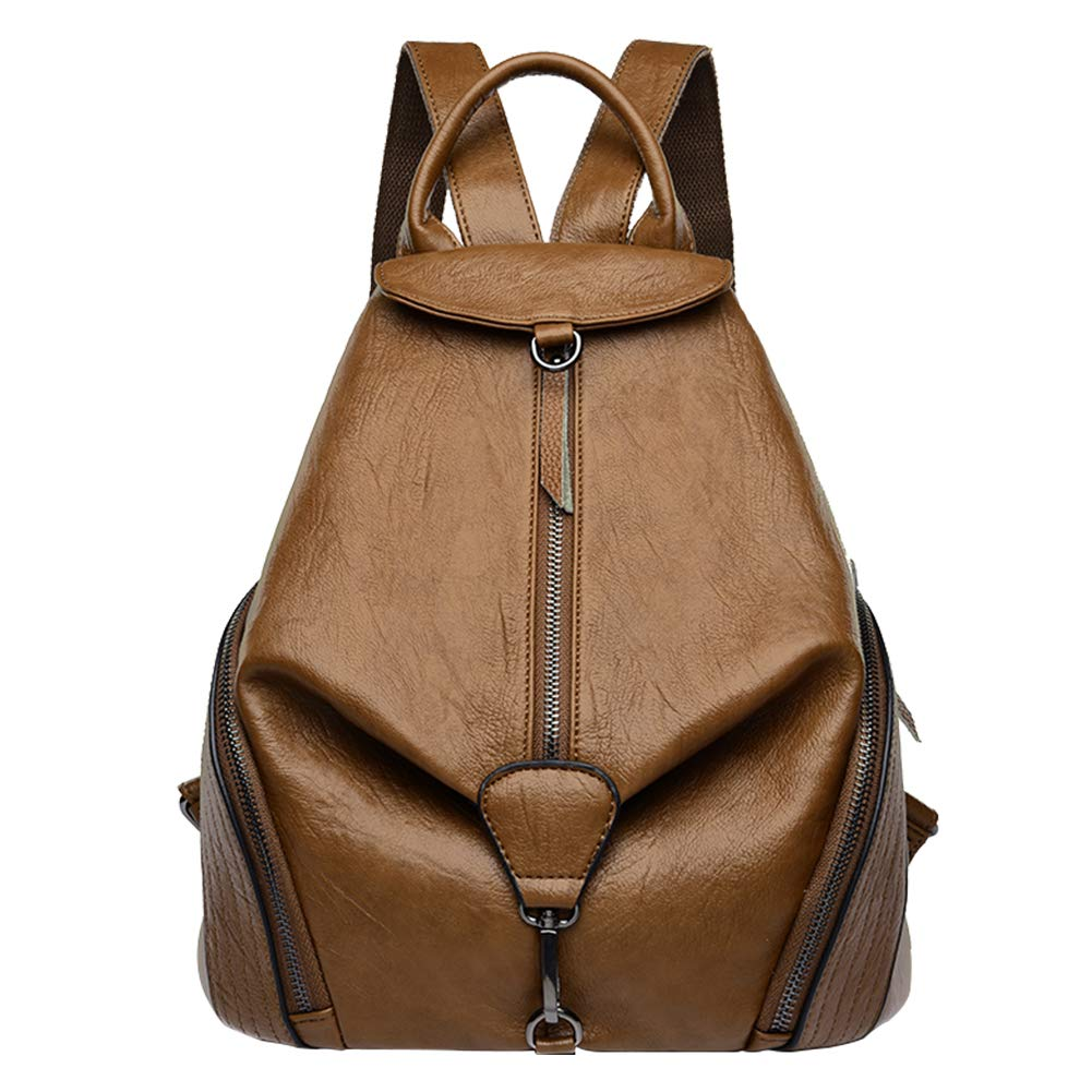 DSLONG Luxury Designer Women Backpack Purse Bag Multifunction Leather Travel Rucksack Handbag Purse Ladies