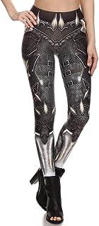KUDALL Collants Leggings Fitness Pantalons De Yoga Sports Stretch Slim Leggings Gris-Blanc Bas Armure Personnalité Créatif Impression Numérique Taille Haute Hanches Femme Trouse