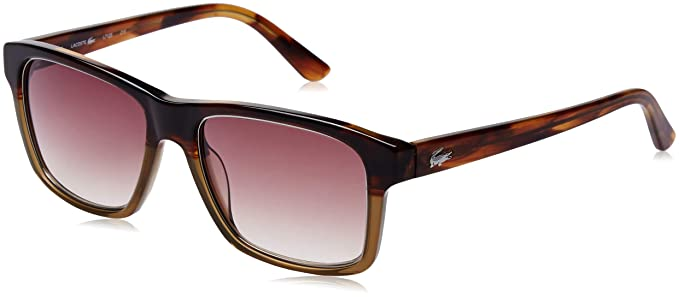 8acaba9cfbfc Lacoste Gradient Square Unisex Sunglasses - (Lacoste 712 215 54 S