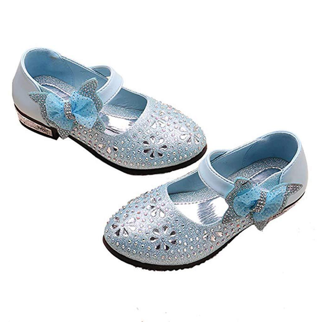 Ears Kinder Prinzessin Schuhe Baby M/ädchen Partei Schuhe Sandalen Oxford Sohlen Sandalette Kristall Bling Pailletten Single Tanzen Prinzessin Schuhe Sandalen Cinderella Absatz-Schuhe