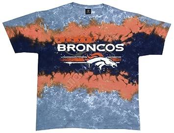 Amazon.com   Broncos Horizontal Stencil T-Shirt Size XXL   Sports ... 771f0b98c