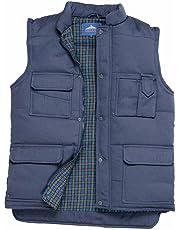 Portwest US414NARXXXL Regular Fit Shetland Bodywarmer Vest, 3X-Large, Navy