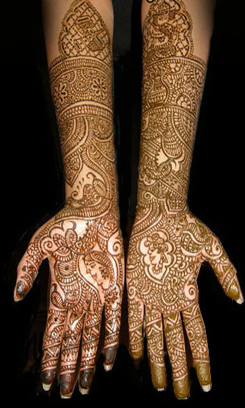 Amazon.com Bridal Mehndi Designs For Full Hands Vol 1