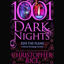 Kiss the Flame Audiobook by Christopher Rice Narrated by Paul Boehmer, Natalie Ross
