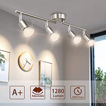 LED Spot Balken Luxus Decken Leuchten Wohn Schlaf Raum Küchen Lampen verstellbar