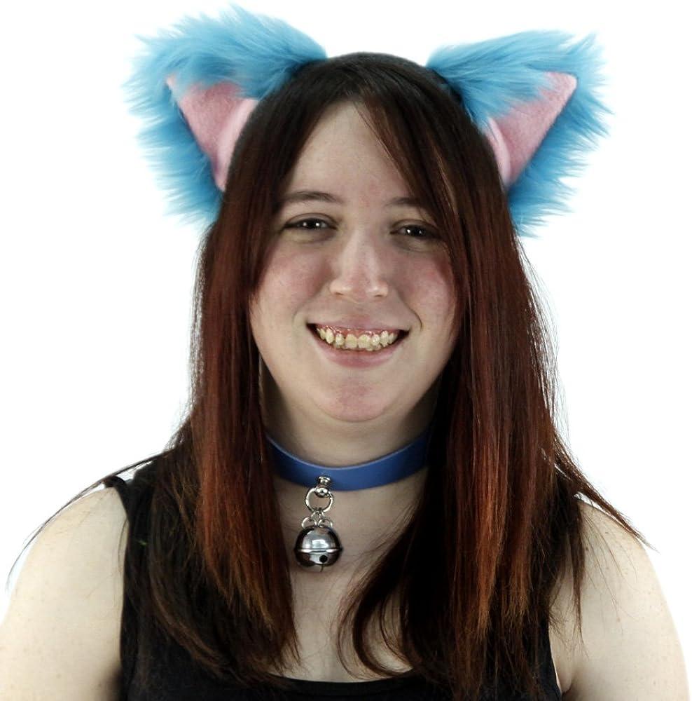 Pawstar Cheshire Cat Furry Ear Headband Costume