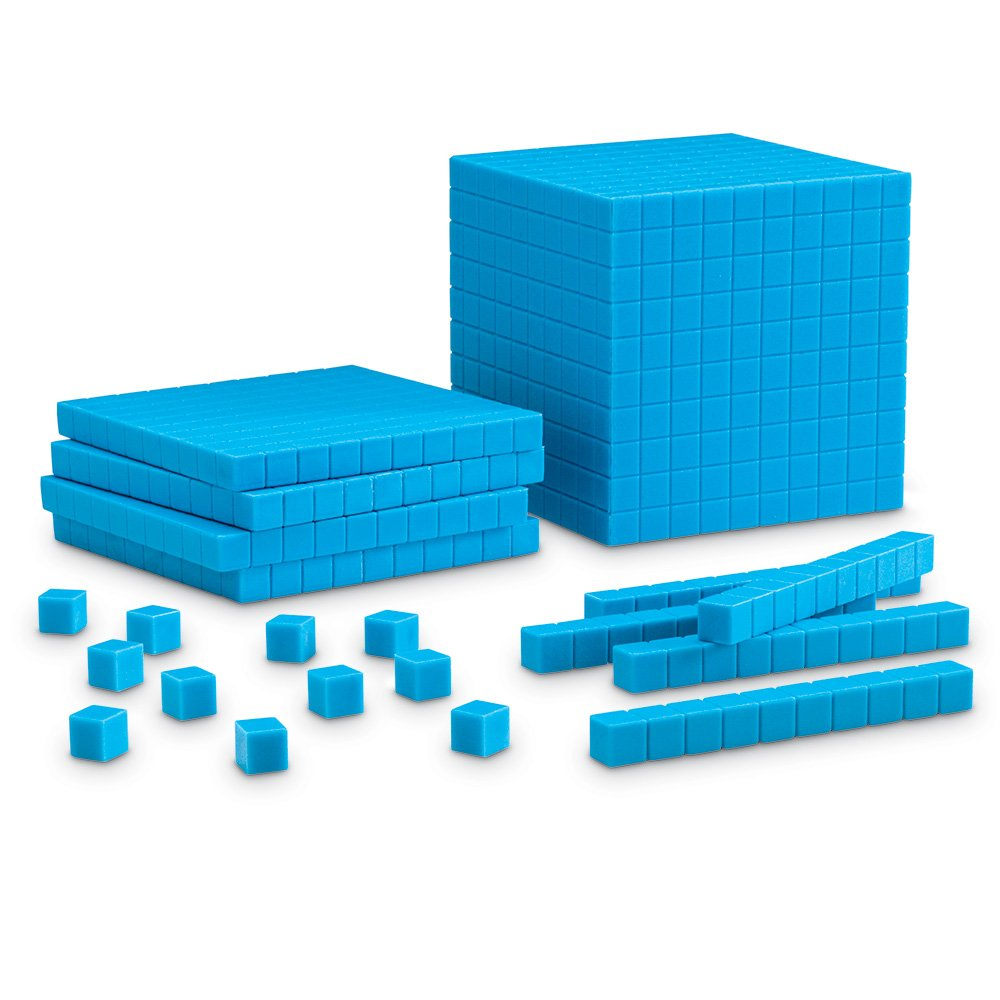 Worksheet Place Value Cubes amazon com learning resources plastic base ten starter kit office products