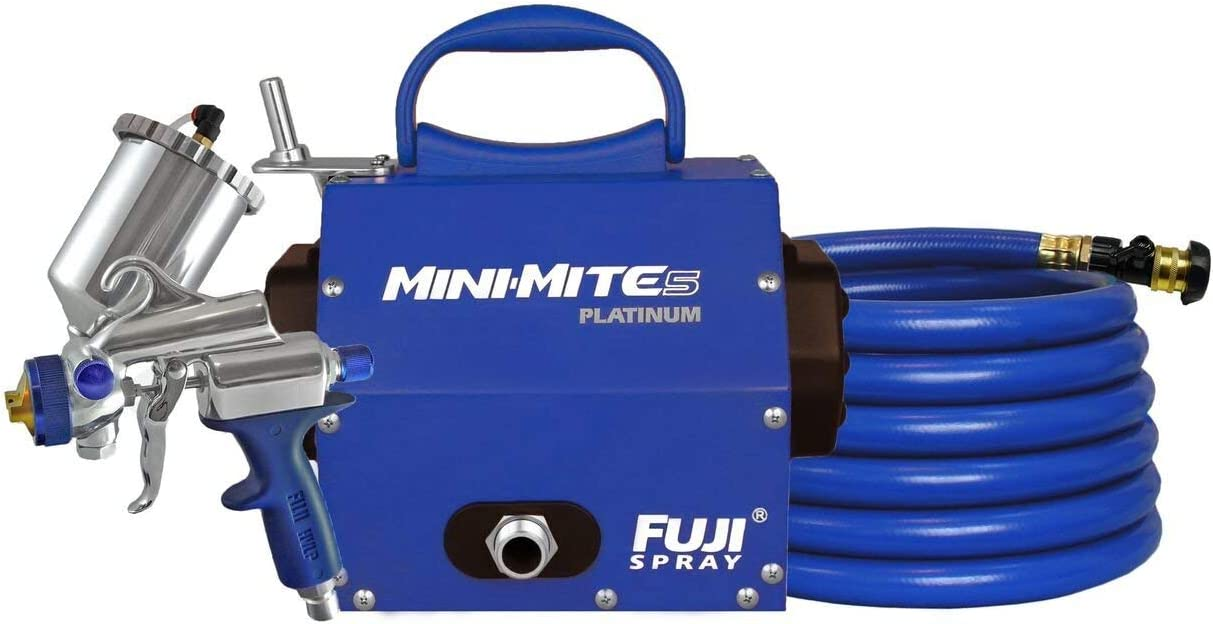 FUJI Mini-Mite 5 PLATINUM Gravity HVLP Spray System Blue