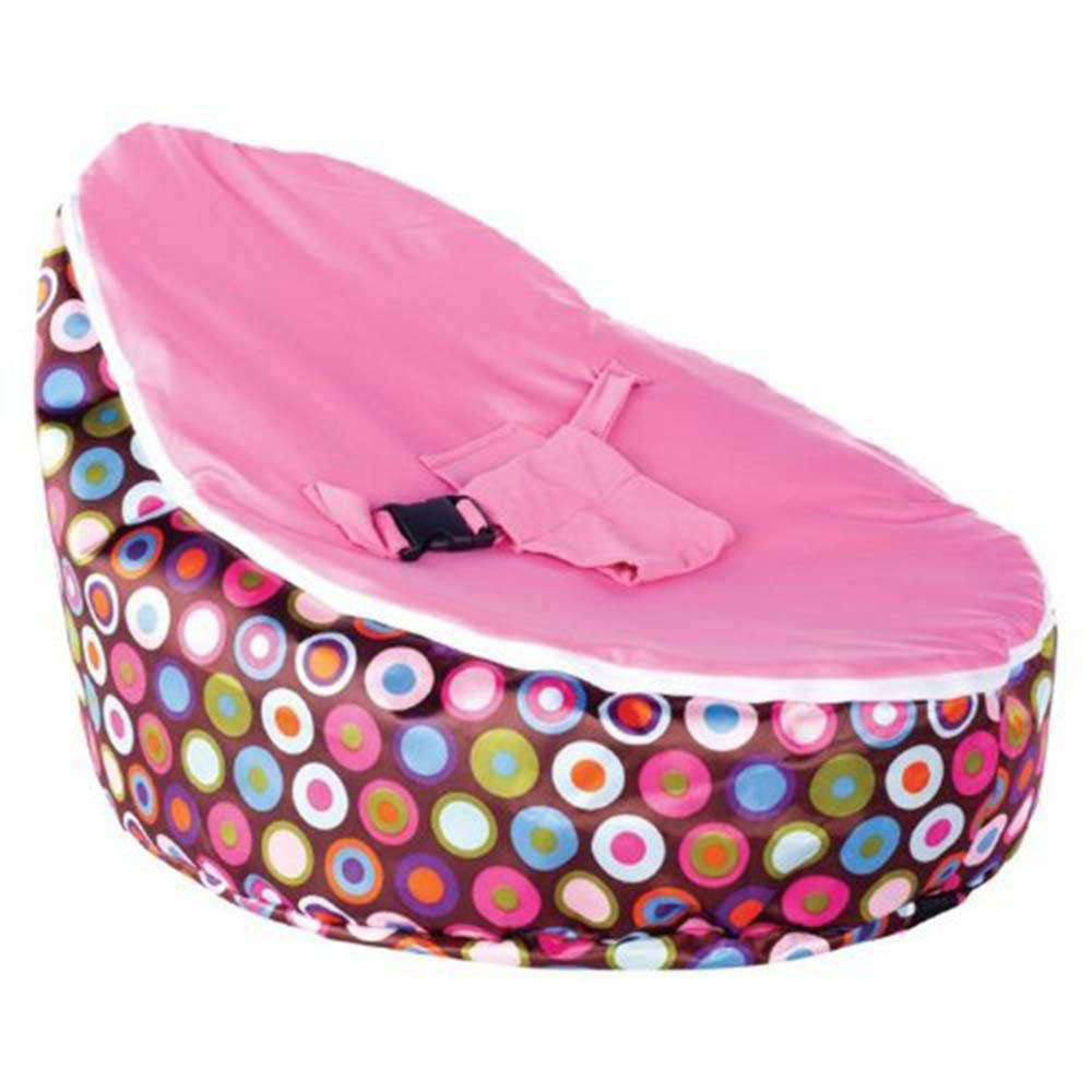 AKUKA Gaga Baby Bean Bag,Soft Removable Chair Cover with Safety Harness (C) 1-1