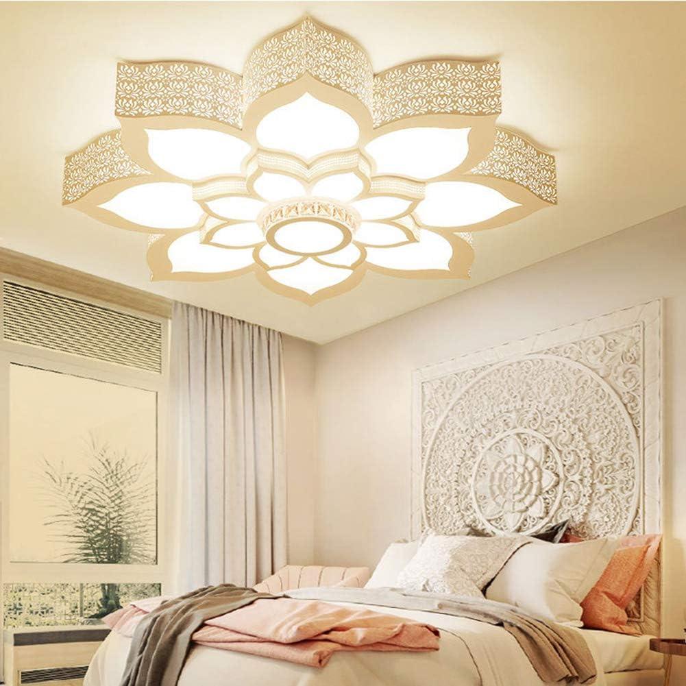 BAIVIN Lotus-Deckenleuchte-Moderne geführte geformte Studien-Lampe