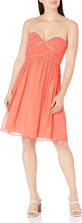 Donna Max 56% OFF Morgan Women's Strapless Sweetheart Max 47% OFF Dress Chiffon