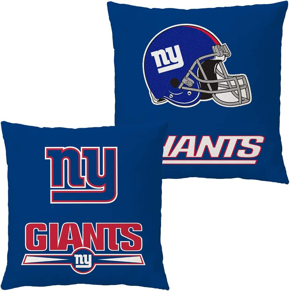 Doomfist Throw Pillow Covers Pillow Cases Pillowcase Double Faced Football Team with Zipper Without Insert 1 Set for Sofa, Car, Bed, Office Chair, Lumbar Support