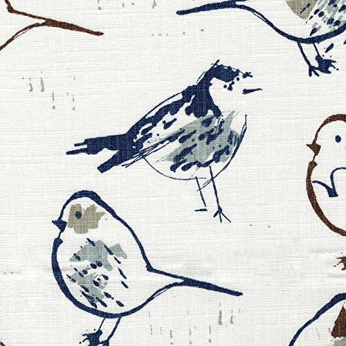Bird Toile Regal Blue Chinoiserie 84