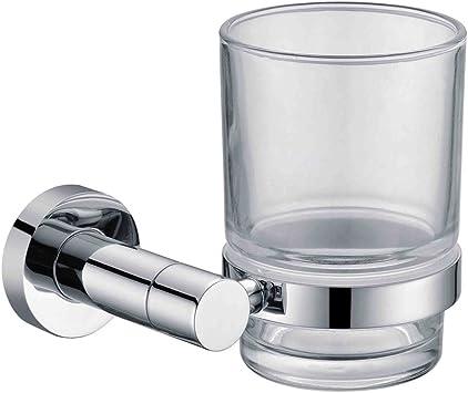 KINSE® Soporte para vaso Portavasos para baño Soporte de pared ...