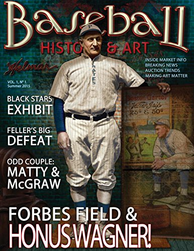 Baseball History & Art Magazine with Casey Stengel Art Card (Inaugural Issue; Summer, 2015) Signed by Artist
