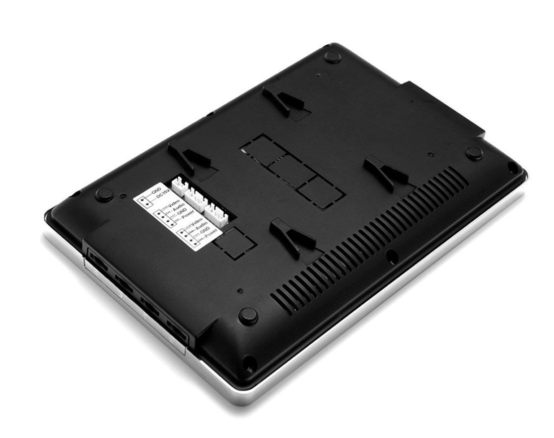 Amazon.com: AMOCAM 2 Units Apartment Intercom Wired 7 Inch Monitor ...