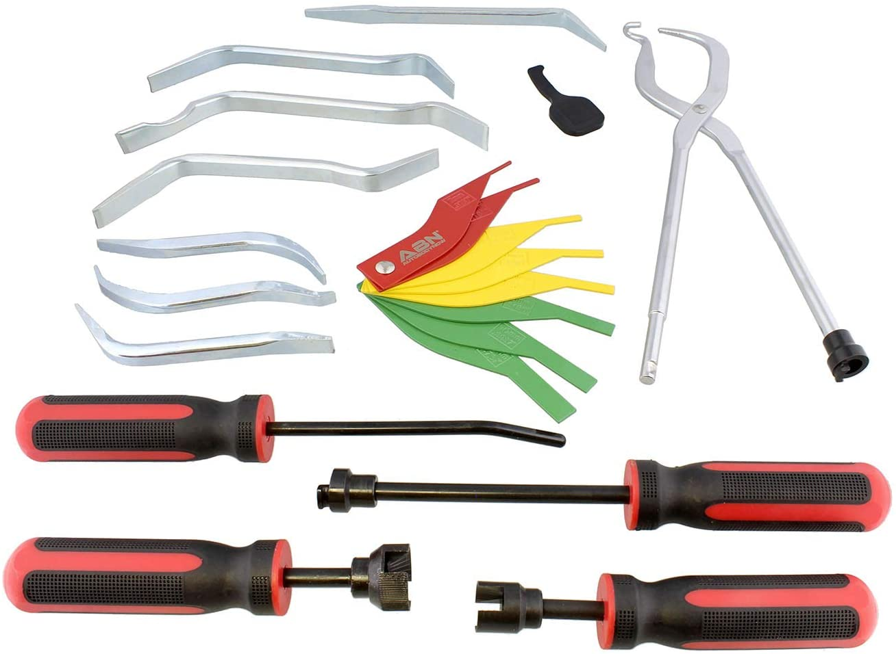 aireador de freno 90-120PSI juego de herramientas de vac/ío neum/áticas para garaje Kit de herramientas neum/áticas para aspiradoras de frenos 10 piezas