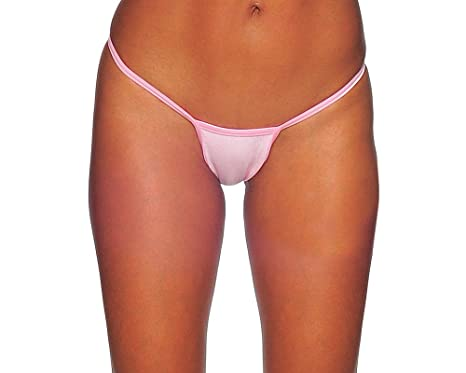 a795377524ee BodyZone Apparel Women's Adult Exotic Thong Underwear. M/L. (Baby Pink)