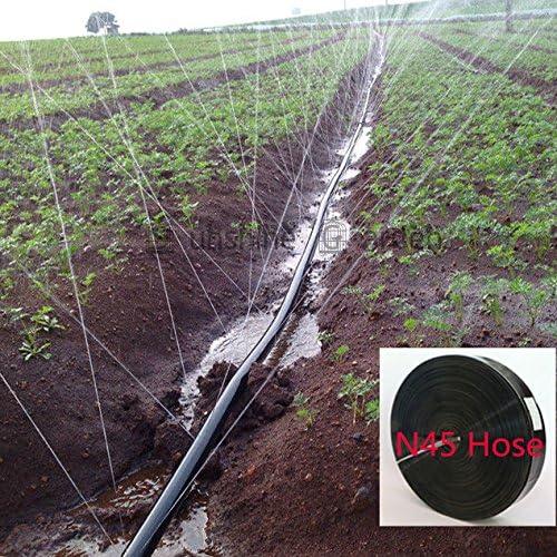Kit de riego de 50 / 100 metros de cinta de drenaje para jardín, sistema de riego de manguera de 0, 19 mm de grosor, rollo de 50 m: Amazon.es: Jardín